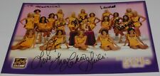 2002-2003 L.A. LAKERS GIRLS CHEERLEADERS SIGNED AUTOGRAPHED 8.5X11 PHOTO
