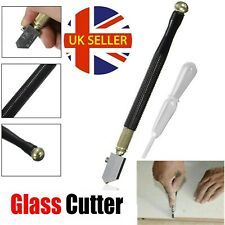 New Glass Cutter Oil Lubricated Professional Tool Cut Mirror & Stained Glasses