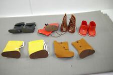 Chaussures 6 Paire Bottes Pour Poupées Aussi Antique Ex stolle 6 - 7 CM (K24) 8