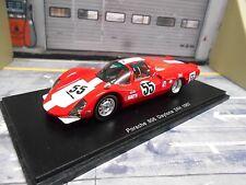 PORSCHE 906 L Langheck 24h Daytona 1967 #55 Spoerry Steinemann Spark Resin 1:43