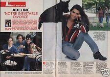 Coupure de presse Clipping 1992 Adeline Blondiau (4 pages)