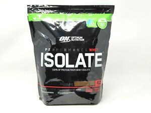 Optimum Nutrition Performance Whey Isolate Chocolate Powder 3.35 lb  EXP 12/22