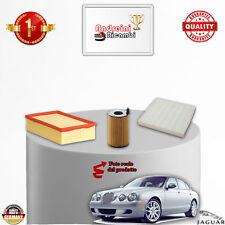 KIT TAGLIANDO FILTRI JAGUAR S-TYPE 2.7 V6 Diesel 152KW 207CV DAl 2008 ->