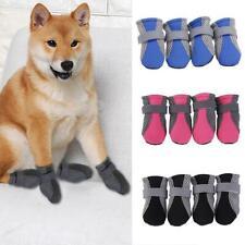 4Pcs Mini Large Pet Puppy Dog Waterproof Casual Walk Shoes Boots Comfort
