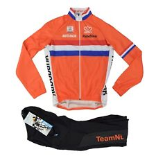 Bio Racer rabobank pro 3 m camiseta pantalones set Jersey Jacket Bib knwu Olympic Team