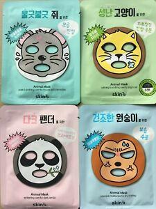 SKIN79 ANIMAL FACE MASK / Panda / Cat / Mouse / Monkey / UK SELLER**