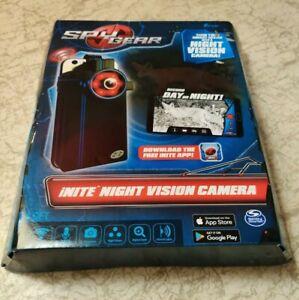 Brand New  Spin Master SPY GEAR iNITE NIGHT VISION CAMERA  Wi-Fi microphone