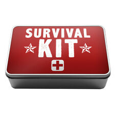 Survival Kit Metal Storage Tin Box A023 University Gift Idea Students Novelty