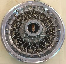"""1979 1980 1981 1982 Oldsmobile Cutlass 4057 14"""" Wire Hubcap Wheel Cover 22501439"""