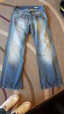 Ladies women's Replay Bootcut Blue Jeans W28 Size 10