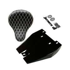 "VLX600 Solo Conversion Seat Kit Honda Shadow Bobber Kit (16"" White Diamond Seat)"