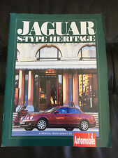 2000 Jaguar S-Type Heritage Automobile Supplement Brochure