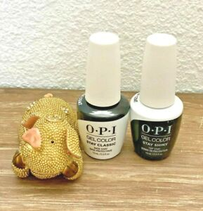 OPI GelColor - Stay Classic & Shiny - Base & Top Coat Duo Pack - New Packaging!