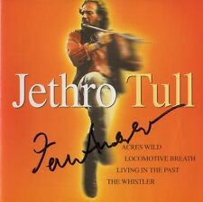 """Ian Anderson """"Jethro Tull"""" Autogramm signed CD Booklet """"A J T Collection"""""""