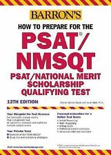 How to Prepare for the PSATNMSQT (Barron's How to Prepare for the Psat Nmsqt Pre