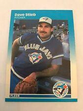 1987 Fleer Dave Stieb Toronto Blue Jays #238