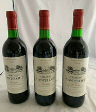 3 Fl. Rotwein Chateau Canteloup Medoc 1994 Cru Bourgeois, Bordeaux Frankreich