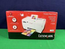 Lexmark Portable Photo Printer P350 New in Box