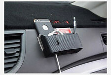 Car Storage Box Organizer Charge Bag Mobile Phone Cradle Holder (Large)