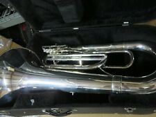 Tama by Kanstul KTB44S Marching Tuba in Silver Plate, New B Stock