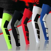 Unisex Sports Leg Support Stretch Sleeve Compression Socks Running Gym Exercise