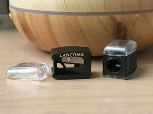 New Lancome Pencil Sharpener Single Hole with cover Made in Germany