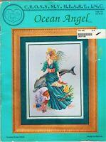 ✔️ OCEAN ANGEL Cross Stitch Chart Leaflet Cross My Heart Melinda Blackman