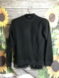 Topo Designs Global Sweater for Men size S Small black NWT