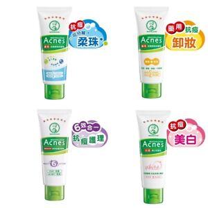 MENTHOLATUM Acnes Skincare Creamy Wash/ Scrub/ White / 6 in 1 (Select)- 100g