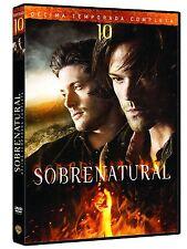 SUPERNATURAL 10 - DVD - SEASON / STAFFEL 10 mit deutschem Ton - NEU & OVP