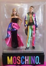 barbie & ken MOSCHINO Giftset Haute Couture Carlyle Nuera 2016 Mattel DRW81 DOLL