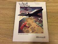 "Microsoft Flight Simulator 3.5"" Disc Box w/ Manuel Vintage Program/Scenery 4.0"