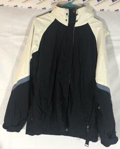 Ride Cell 5 Series Gray Blue Winter Ski Snowboard Jacket Coat Shell Men Medium