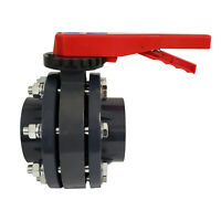 "Butterfly Valve Kit - ERA Sch 80 PVC 4"", With Flanges and Hardware"