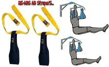 JM NEW AB Slings Weight Lifting Door Hanging Straps Gym Bar Stomach Fitness Gym