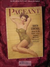 PAGEANT Magazine July 1952 Red Skelton Dean Martin Jerry Lewis