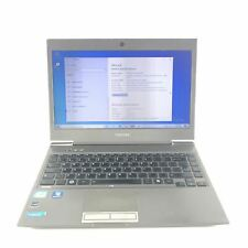 """Toshiba Satellite Z930 Laptop 13.3"""" 128GB Intel Core i3-3217U @1.8 GHz 10GB Read"""