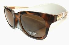 NEW men's CALVIN KLEIN CK 721 retro sunglasses + hard case