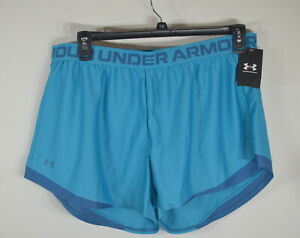 Under Armour Woman's Play up Shorts XXL Loose fit Blue NWT