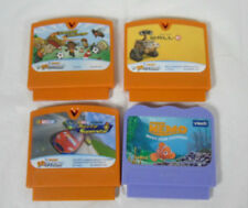 4 V Smile Game Lot Includes 3 V motion and 1 V smile Game Wall-e, Nascar, Nemo