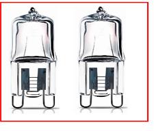 NUOVO 2 X FORNO HALOPIN 40 W G9 Alogeno Capsula Lampadina per forno e microonde