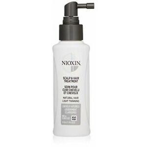Nioxin Scalp and Hair Treatment 3.38 oz 100 ml System 1,2,3,4,5