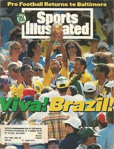 WORLD CUP SOCCER CHAMPIONS BRAZIL 1994 SPORTS ILLUSTRATED TAFFAREL JORGINHO