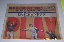 2000 NEW YORK YANKEES Daily News SUBWAY SERIES NY Mets MIKE PIAZZA Derek JETER