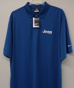 JEEP Mens Embroidered Nike Golf Shirt XS-4XL, LT-4XLT New
