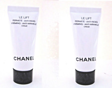 New  (2) Chanel Le Lift Firming Anti-Wrinkle Cream Travel Size .34oz !!