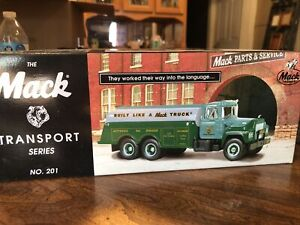 First Gear Mack Tanker Truck Transport Series No. 201 Mack Parts and Service