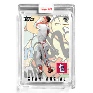 Topps Project 70 Card 50 - 1995 Stan Musial by Toy Tokyo