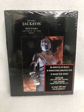 Michael Jackson History 2 Cassette Authentic Collectible Sealed Rare