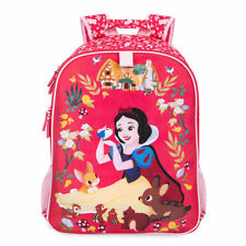 NWT Disney Store Snow White Red Backpack Girls bag tote School